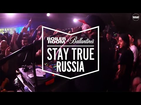 DJ Premier Boiler Room x Ballantine's Stay True Russia DJ Set