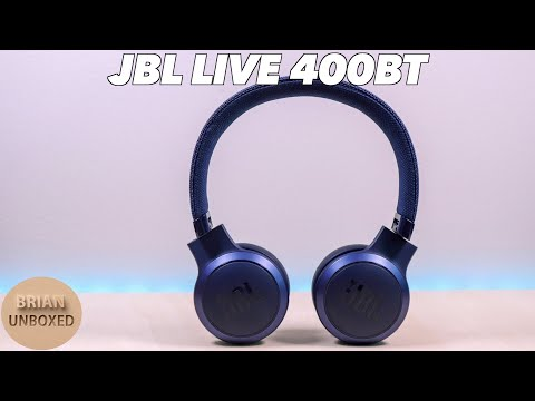 External Review Video dRxJJlXljUw for JBL LIVE 400BT On-Ear Wireless Headphones