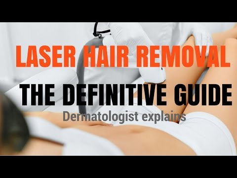 Hair removal- watch this video before you spend money on laser hair removal