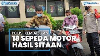 Kapolsek Berharap Masyarakat yang Kehilangan Motor Agar Datangi Polsek Pulogadung
