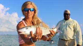 Fly Fishing in the Bonefish Capital of the World; Bahamas Day 2
