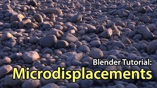 como funciona o displasemant no blender