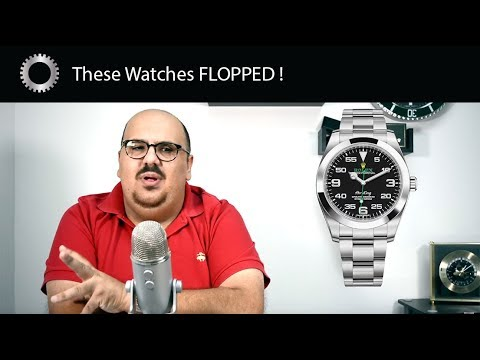5 New Watch Releases That FLOPPED ! – Federico Talks Watches