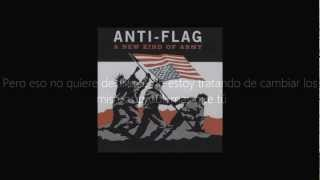 Anti - Flag - Tearing Everyone Down (Traducida al Español)