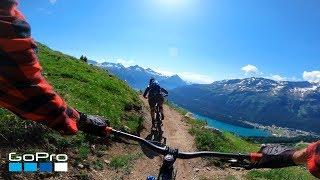 GoPro: Wild Swiss Alps MTB Ride in 4K