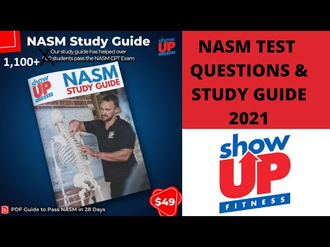 NASM-CPT Study Guide & Test Questions 2021   Show Up Fitness ...