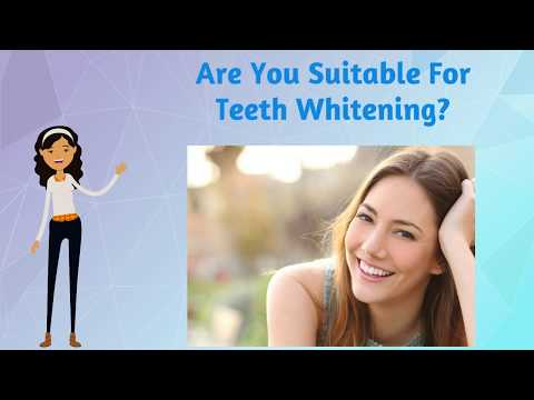 Are You Suitable For Teeth Whitening?