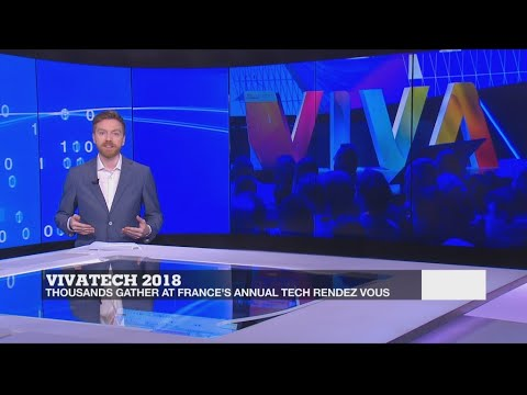 Thousands gather for France's annual tech rendez vous