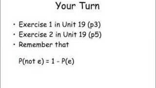 GCSE Probability Part 1