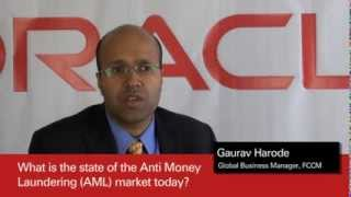 Oracle Financial Services Anti-Money Laundering video