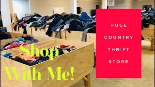 The Biggest Thrift Store I've Ever Been To!! | Shop With Me | Episode 64