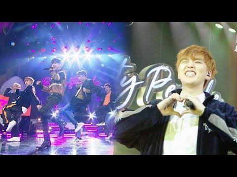 Каверы от участников B1A4 на шоу Party People