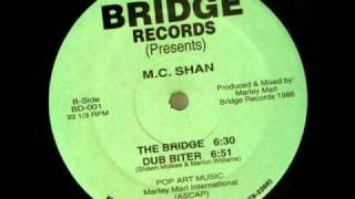 MC Shan - The Bridge