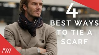 How To Tie Scarves For Men - Mens Style Quick Tips