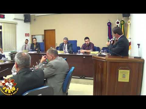 Vereador Ginho fala na Tribuna que a culpa das obras do Fórum está parada e de São lourenço da Serra