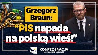 Braun: Konfederacja broni polskiej gospodarki!