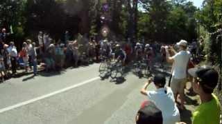 preview picture of video 'Tour de France 2012, Côte de Châteaufort'