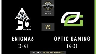 Enigma6 vs Optic Gaming | CWL Pro League 2019 | Cross-Division | Week 6 | Day 1