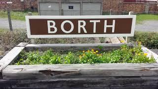 Borth, a coastal village 7 miles north of Aberystwyth on the welsh coast.