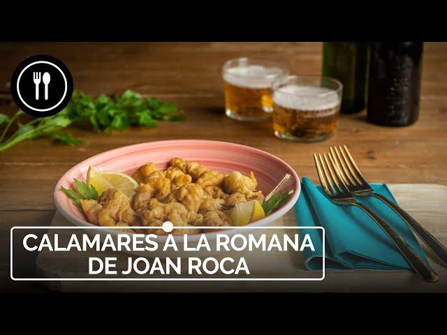 CALAMARES A LA ROMANA - Receta de Joan Roca | Directo al Paladar