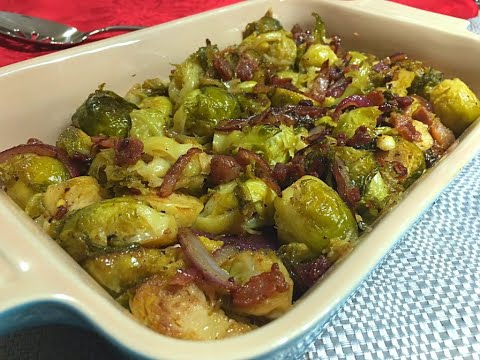 Brussels Sprouts with Bacon & Onions Recipe – Episode #274