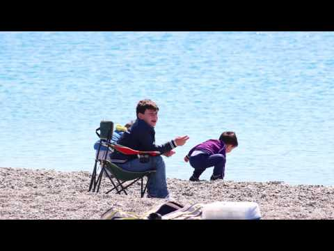 Pesca di spearfishing di video