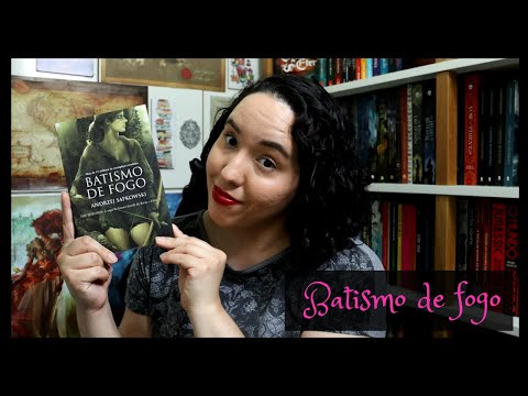 The Witcher Batismo de fogo, Andrzej Sapkowski | Raíssa Baldoni