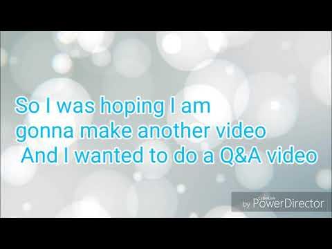 Q&A Video Request