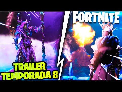 *TRAILER TEMPORADA 8* FORTNITE - VOLCÁN, DRAGONES E INUNDACIÓN (FAN MADE)