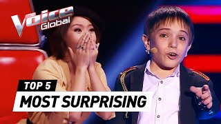 Gambar cover The Voice Kids | MOST SURPRISING Blind Auditions [PART 2]