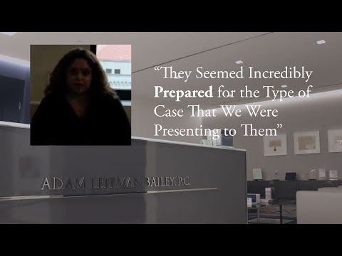 """""""They Seemed Incredibly Prepared for the Type of Case That We Were Presenting to Them"""" testimonial video thumbnail"""