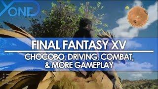 Gameplay - Chocobo, Guida, Combattimenti