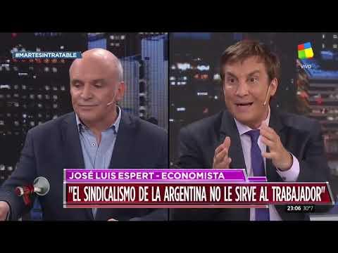 José Luis Espert en Intratables (10/12/19)