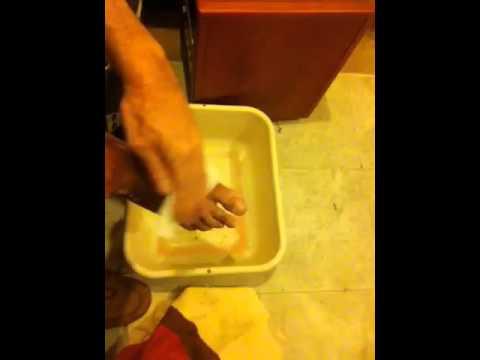 Le sel marin pour le traitement des eczémas