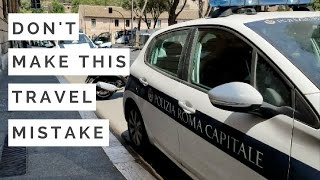 Rome - How to withdraw money in Italy (Day 3.5) - vlog