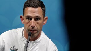 "Kyle Shanahan on 49ers Loss, ""We'll be fired up for next year"""