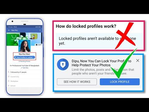 How to locked facebook profile - Abu Noman - Video - 4Gswap org