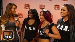 """Lita, Team B.A.D. Und """"Rehe Im Scheinwerferlicht"""": WWE Tough Enough Digital Extra – 28. Juli 2015"""