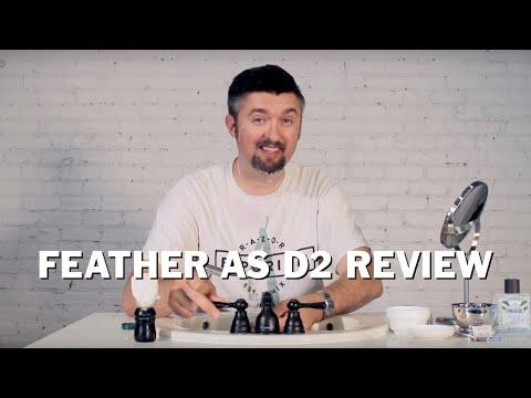 Razor Emporium Wet Shave Review: Feather AS-D2 Safety Razor
