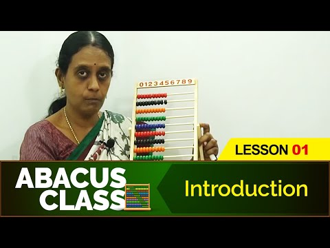 Abacus Class - Introduction   Learn basics Abacus   Beginners Abacus Lesson 1