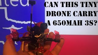 Tiny HD Drone - Can it Handle A 650mah 3S?