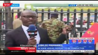 A wave of anxiety and uncertainty rock Jubilee supporters camping outside Jubilee Party Headquarters