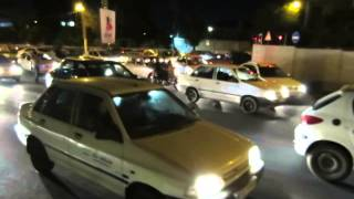 preview picture of video 'Traffic Flow, Iran, no accidents'