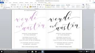 How To Customize Your Wedding Invitation Template