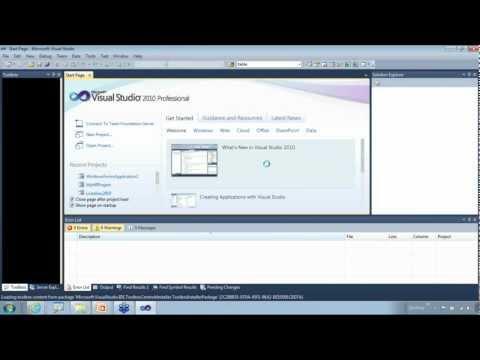 .Net Training Session 01 - YouTube