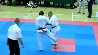 preview picture of video 'Oyama Top - Andrychów 2011 Mateusz Szymczyk vs Roman Oraczko'