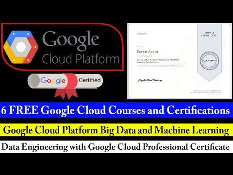 Google Cloud Big Data and Machine Learning Certification - 6 ...