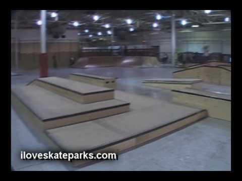 iloveskateparks.com Tour - Modern Skatepark - Royal Oak, MI