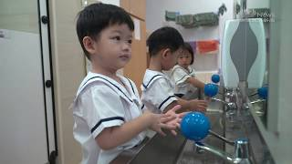 Tzu Chi Great Love PreSchool's Self-Help Skills Challenge