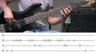 Rude Bass Tab (By Magic)